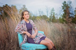 beautiful Oakland County senior pictures