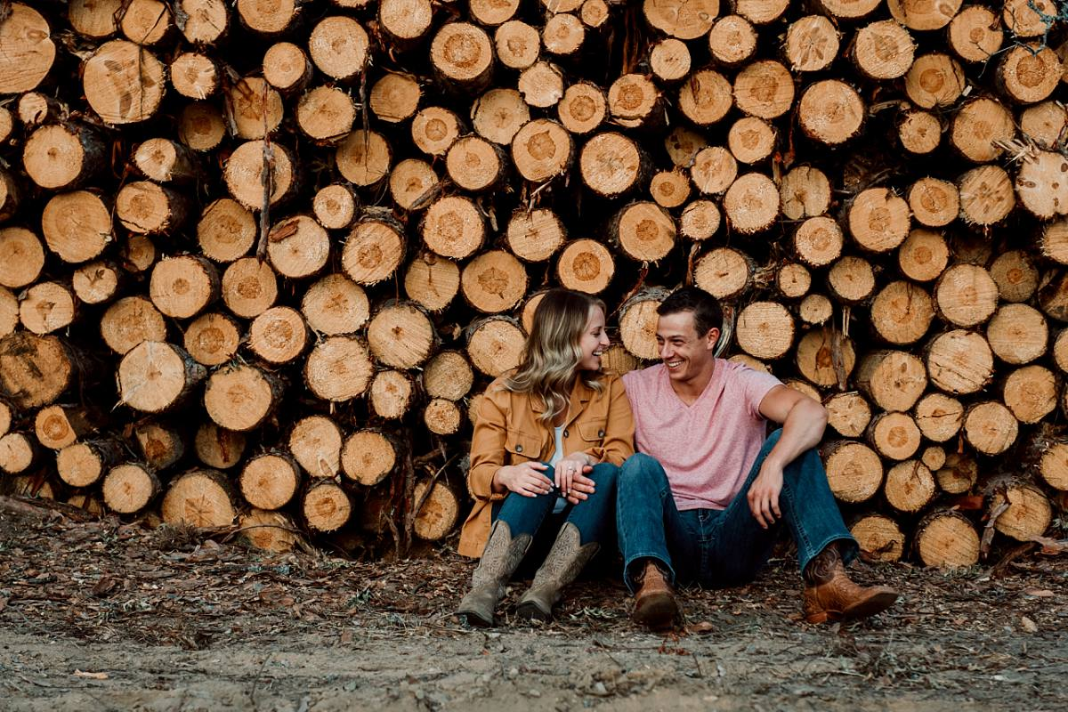 northern michigan engagement photography